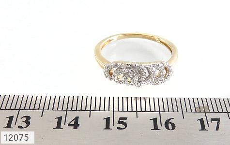 انگشتر نقره رینگی جواهرنشان زنانه - تصویر 6