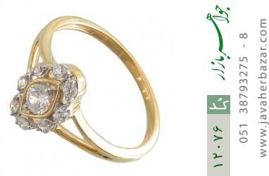 انگشتر نقره مجلسی طرح خاتون زنانه - کد 12076