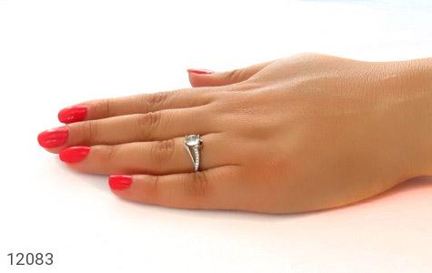 انگشتر دُر نجف طرح نازی زنانه - عکس 7