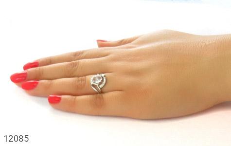 انگشتر دُر نجف طرح شایلی زنانه - عکس 7