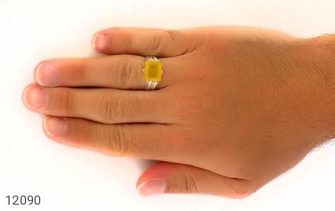 انگشتر عقیق حکاکی شرف الشمس - تصویر 8
