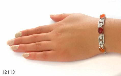 دستبند عقیق یمن - عکس 5