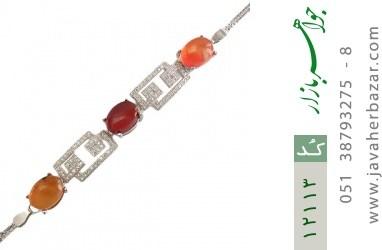 دستبند عقیق یمن - کد 12113
