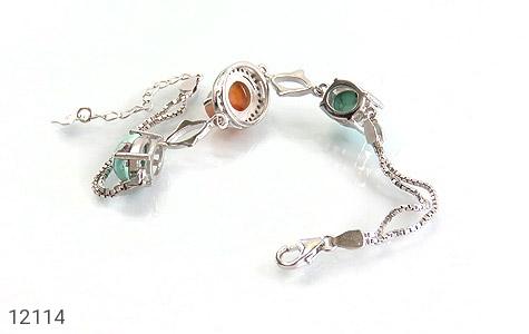 دستبند عقیق و فیروزه نیشابوری - تصویر 2