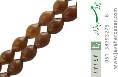 تسبیح شاه مقصود دانه ها دست ساز - کد 12142