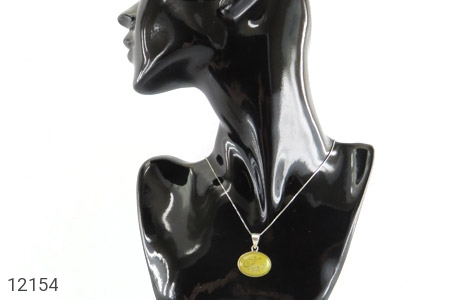 مدال عقیق حکاکی یا امام رضا (ع) شرف الشمس فریم دست ساز - تصویر 6