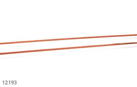 زنجیر نقره 45 سانتی مسی - عکس 1