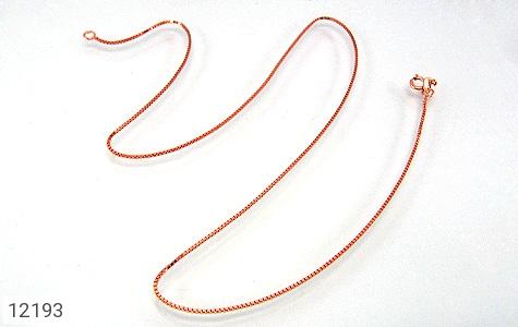 زنجیر نقره 45 سانتی مسی - تصویر 4