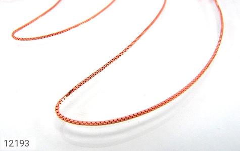زنجیر نقره 45 سانتی مسی - عکس 5
