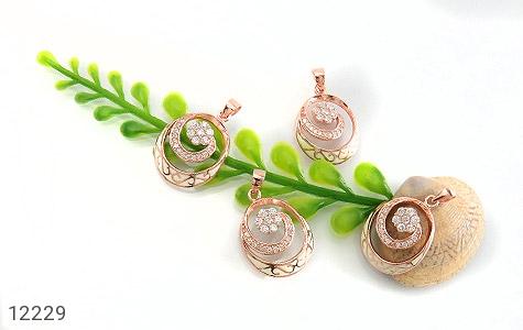 مدال نقره میناکاری طرح غزل زنانه - عکس 5