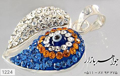 مدال نقره چشم زخم درشت - عکس 3