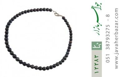 سینه ریز مروارید سیاه ارزشمند و جذاب - کد 12283