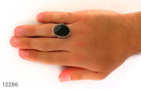 انگشتر یشم رکاب دست ساز - عکس 7
