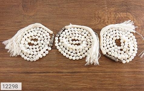 تسبیح جید سفید 101 دانه زیبا - تصویر 4