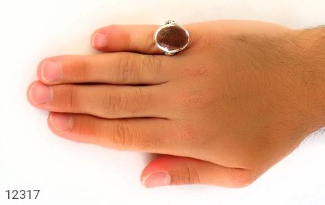 انگشتر عقیق یمن حکاکی و من یتق الله - عکس 7