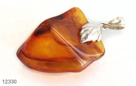 مدال کهربا حشره ای بولونی لهستان تراش طبیعی - عکس 1