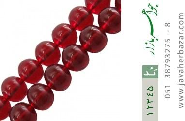 تسبیح سندلوس آلمان 101 دانه سرخ خوش رنگ و ارزشمند - کد 12345