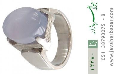 انگشتر عقیق یمن هنر دست استاد فلات - کد 12380