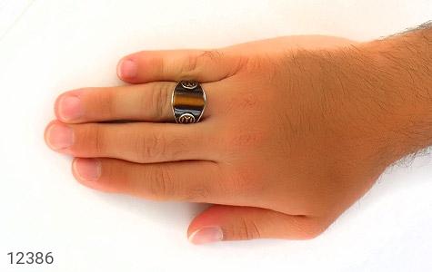 انگشتر چشم ببر خوش رنگ رکاب اسپرت ترک - تصویر 8
