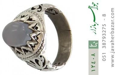 انگشتر عقیق یمن رکاب دست ساز - کد 12408