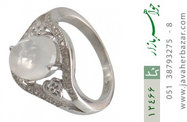 انگشتر دُر نجف طرح محبوب زنانه - کد 12466