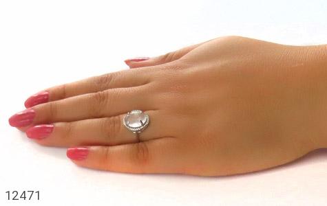 انگشتر دُر نجف طرح یکتا زنانه - عکس 7
