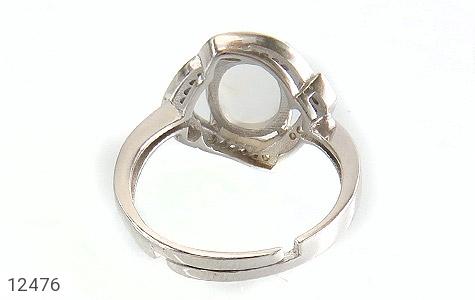 انگشتر دُر نجف طرح دلبر زنانه - تصویر 4