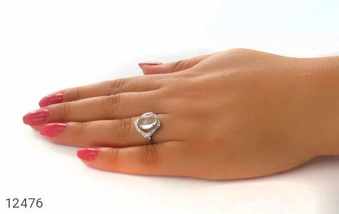 انگشتر دُر نجف طرح دلبر زنانه - عکس 7