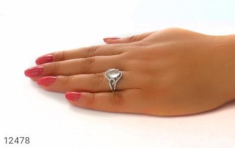 انگشتر دُر نجف طرح نفس زنانه - عکس 7