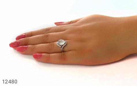 انگشتر دُر نجف طرح هنگامه زنانه - عکس 7
