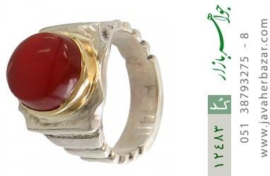 انگشتر عقیق یمن لوکس هنر دست استاد شرفیان - کد 12483
