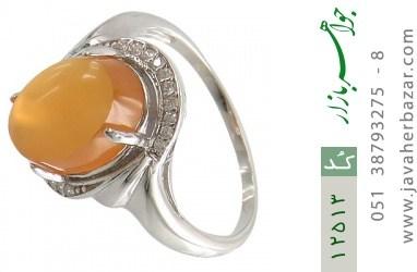 انگشتر عقیق یمن حکاکی شرف الشمس - کد 12513