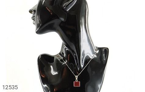 مدال عقیق فریم دست ساز - عکس 5