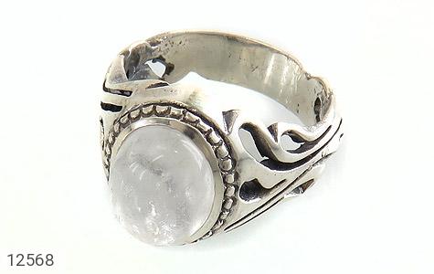 انگشتر دُر نجف جذاب مردانه - عکس 1