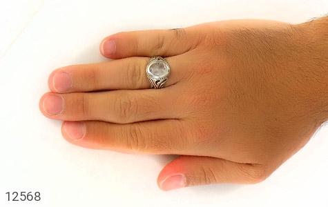 انگشتر دُر نجف جذاب مردانه - عکس 7