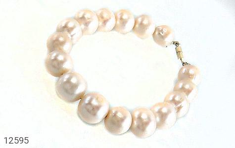 دستبند مروارید پرورشی جذاب درشت زنانه - عکس 1
