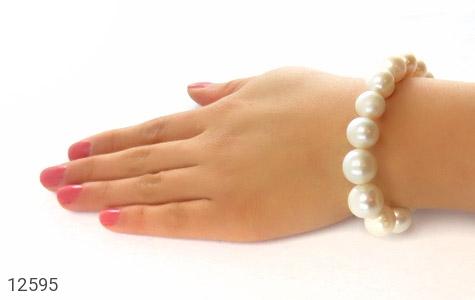 دستبند مروارید پرورشی جذاب درشت زنانه - عکس 7