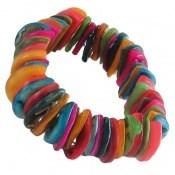دستبند صدف طرح طراوت زنانه