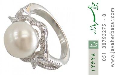 انگشتر مروارید درشت طرح هانا زنانه - کد 12628