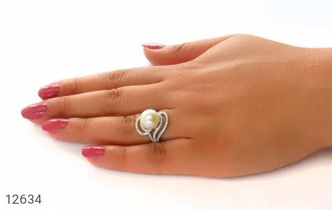انگشتر مروارید درشت طرح پرنسس زنانه - عکس 7