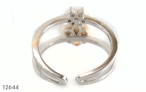 انگشتر مروارید درشت طرح ستاره ی ناز زنانه - تصویر 4