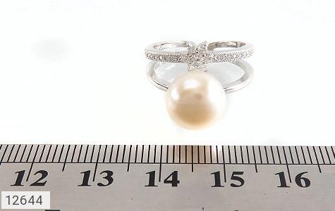 انگشتر مروارید درشت طرح ستاره ی ناز زنانه - تصویر 6