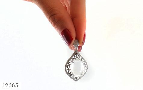 مدال دُر نجف درشت طرح اقلیما زنانه - تصویر 6