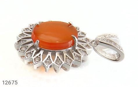 مدال عقیق یمن حکاکی شرف الشمس - تصویر 2