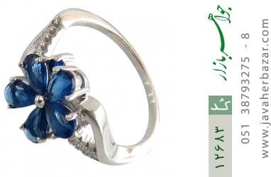 انگشتر نقره مجلسی طرح مهگل زنانه - کد 12683