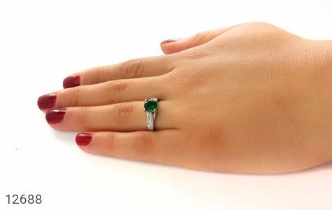 انگشتر نقره طرح هنگامه زنانه - عکس 7