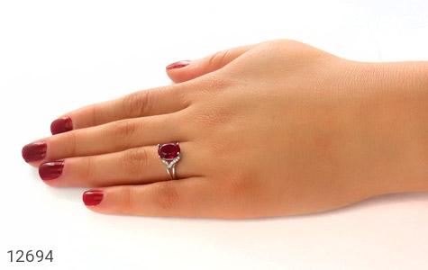 انگشتر نقره طرح رُز زنانه - عکس 7