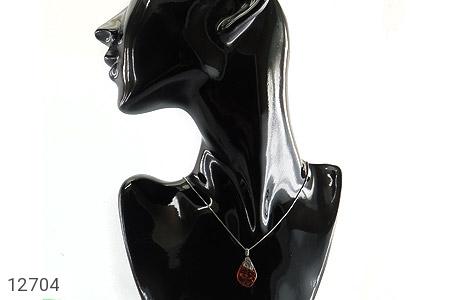 مدال کهربا بولونی لهستانی شفاف - تصویر 8