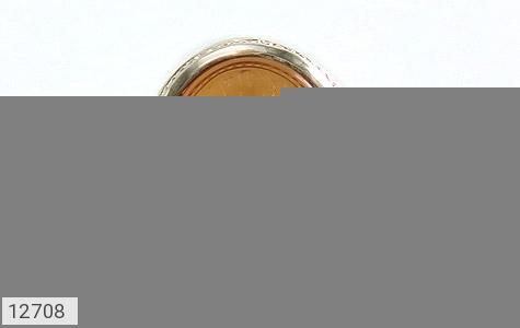 انگشتر عقیق یمن حکاکی شرف الشمس و من یتوکل علی الله فهو حسبه استاد احمد رکاب دست ساز - تصویر 2