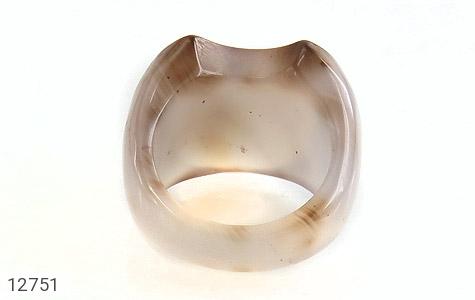 انگشتر عقیق حلقه سنگی درشت و خاص زنانه - تصویر 4